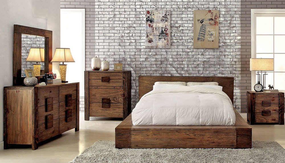 Rustic Bedroom Furniture for the Bedroom
