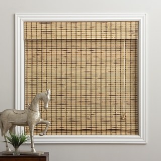 bamboo shades arlo blinds rustique bamboo roman shade with 74 inch height (more UBKRCGF