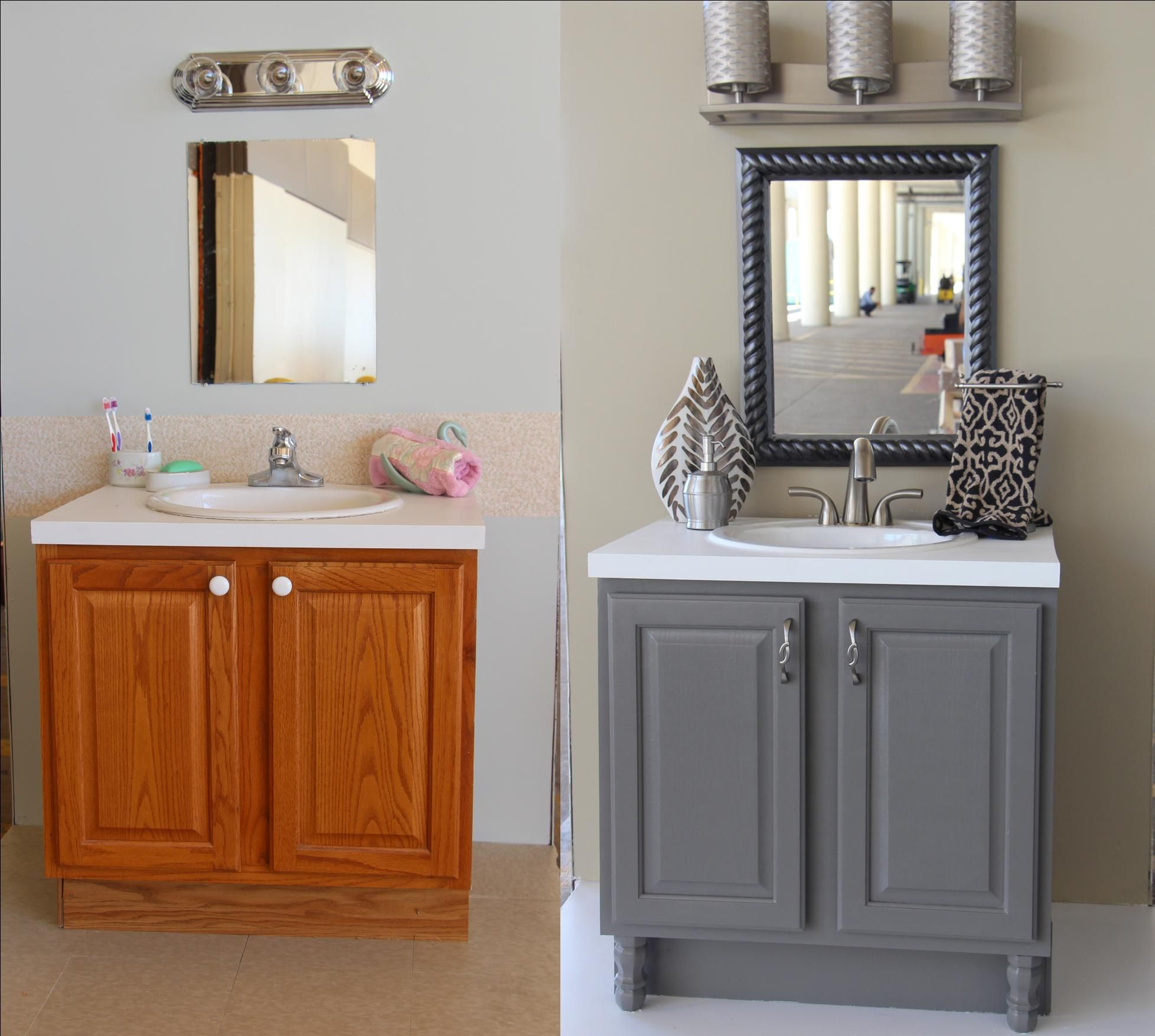 bath cabinets trendsetter bath before and after with accessories-upcycled bathroom ideas UJORSOX
