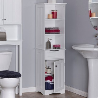 bathroom cabinets riverridge ashland collection tall cabinet (2 options available) IWLVANR