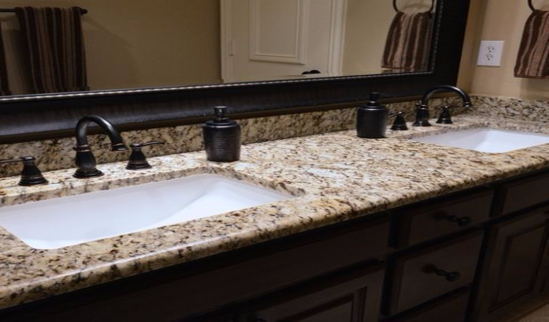 bathroom countertops 15 most popular granite choices for bathrooms countertops SNPTSLR