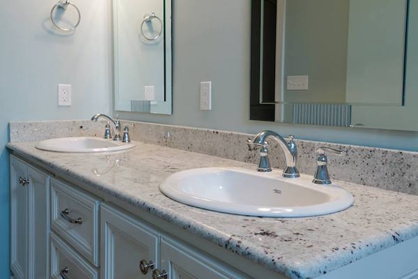 bathroom countertops how to replace a bathroom countertop | homeadvisor EZGCPFI