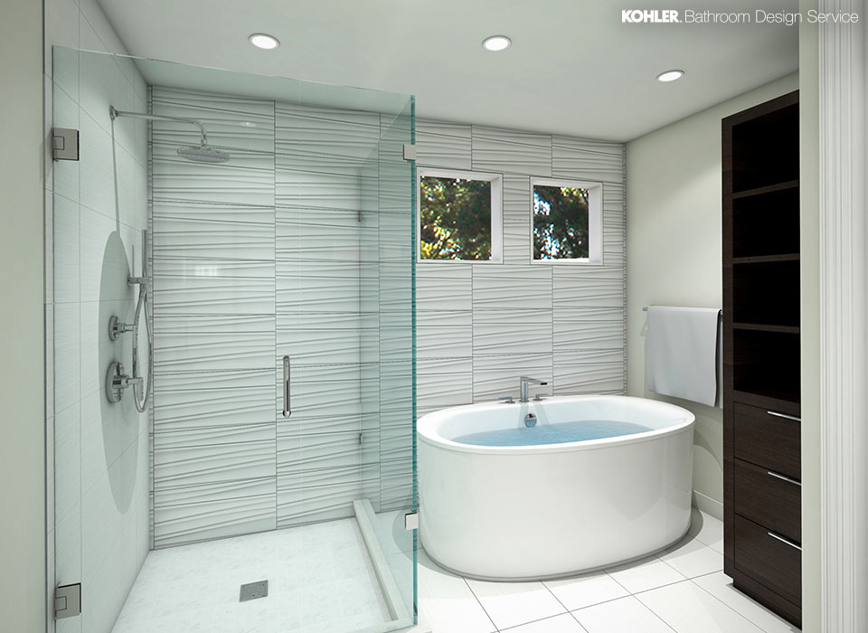 bathroom designs less is more UVBEYHV