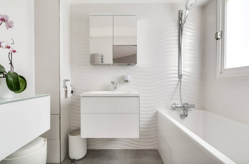 bathroom designs small bathroom design ideas - freshome.com BJCPPWR