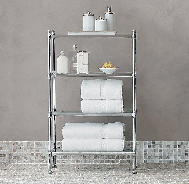 bathroom etageres stylish bathroom etagere for making the neat bathroom | cafemomonh ~ XEWAWER