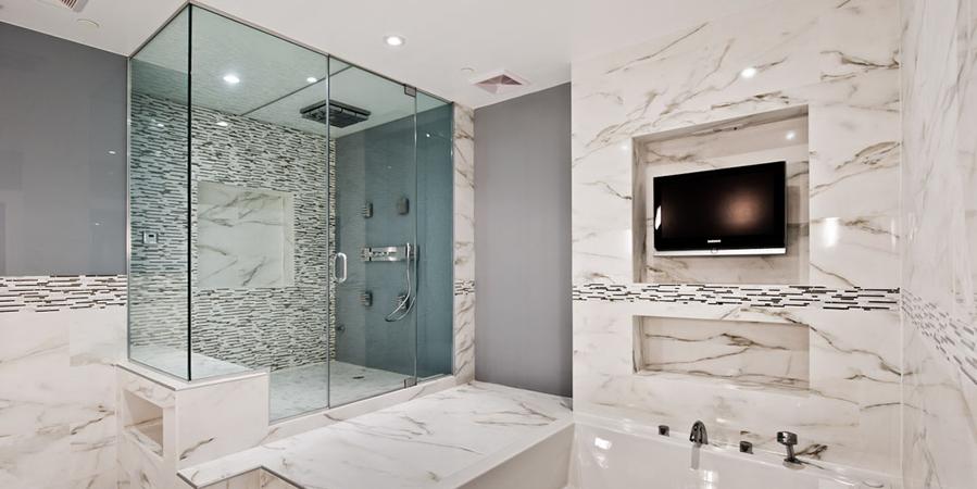 bathroom renovation get a complete bathroom remodel ... HWBJGPK