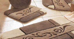 bathroom rug sets bathroom: luxury bath mat sets enchantin chocolate bath rug sets for KOWGICZ