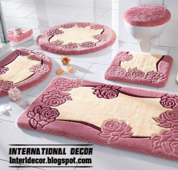 bathroom rug sets more than 10 of the latest models of bathroom rugs in PBJDPYP