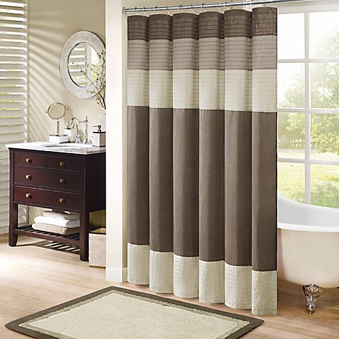 bathroom shower curtains madison park amherst shower curtain YPDGWVY