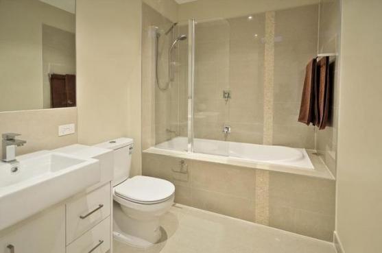 bathroom shower ıdeas bath shower combo ideas by eco sure homes pty ltd SUVJWQW