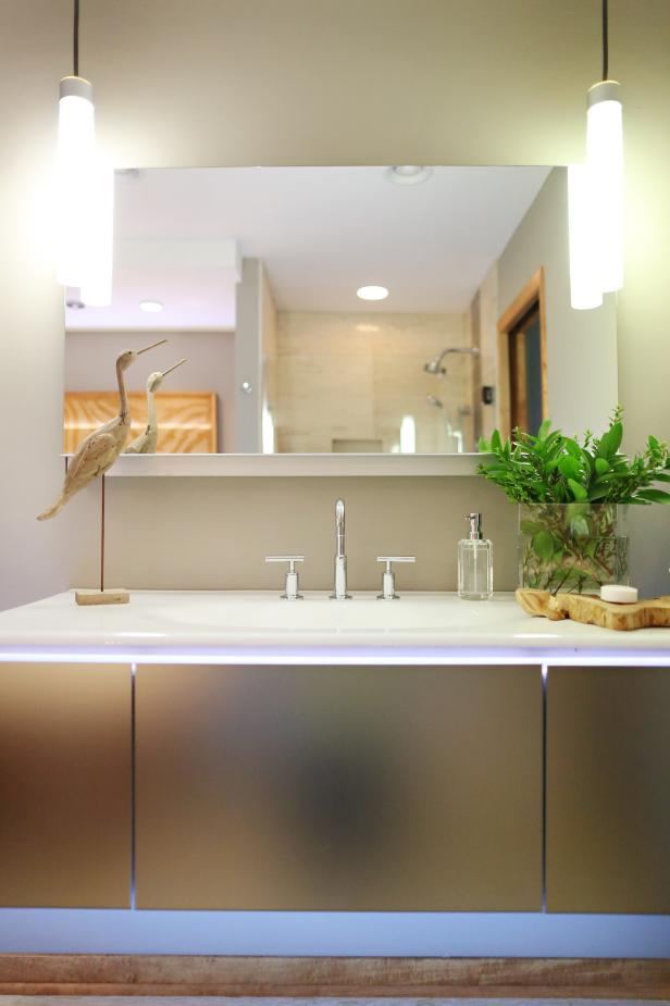 Bathroom vanity for different rooms