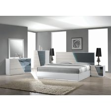 beautiful contemporary bedroom sets quick view. murakami platform 5 piece bedroom QVTGMPI
