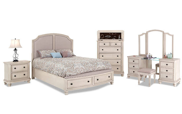 bedroom sets euro cottage bedroom set WHAYJIQ