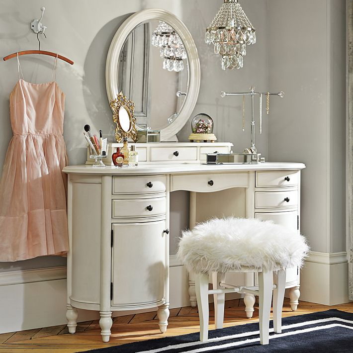 bedroom vanity vanity table with mirror and bench makeup vanity for small bedroom YVCMPGY