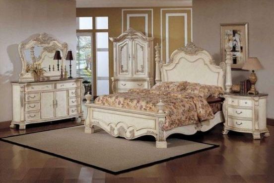 bedroom: white vintage bedroom furniture sets ZUCJHZY