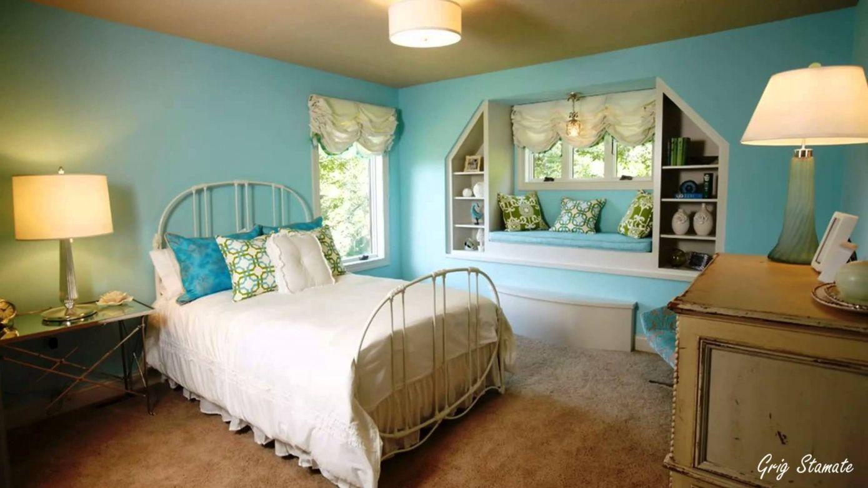 bedrooms ideas 2019 2019 teal bedroom decor ideas - interior house paint ideas check XMBAOMH