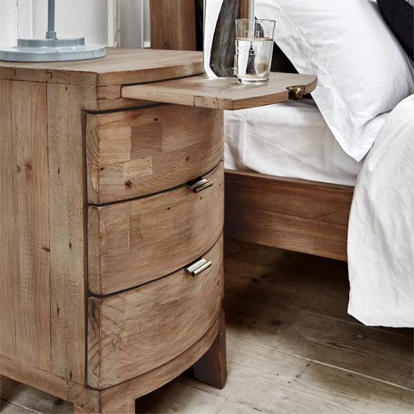 bedside tables winchester rustic bedside table next to rustic bed FNVOBTZ