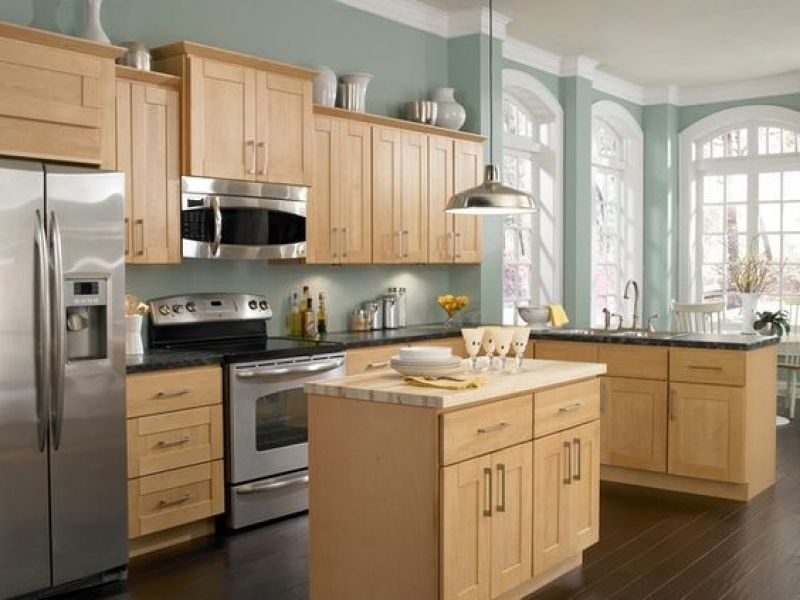 Kitchen Wall Colors Influence The Environment From Background