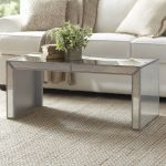 The Beautiful reflections of mirrored coffee table