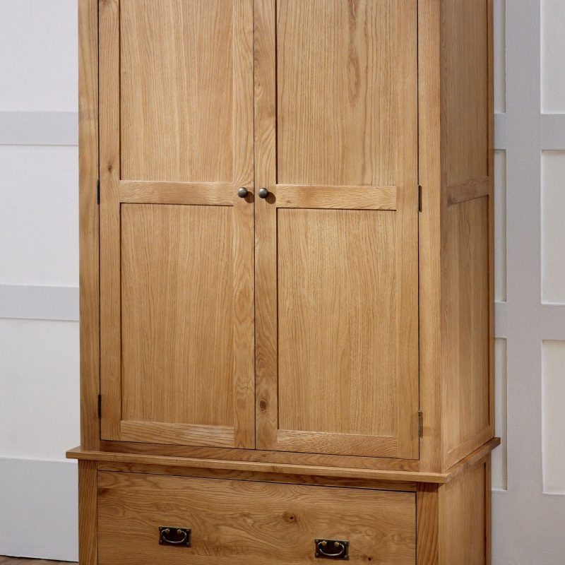 birlea malvern gents 2 door 1 drawer oak wardrobe - online SWPKXKO