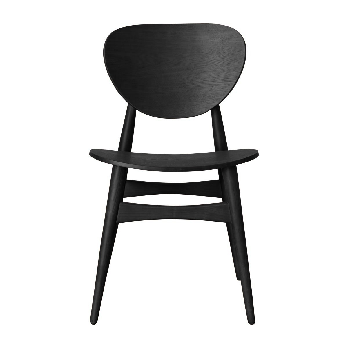 black dining chairs life interiors - potter timber dining chair (black) - modern dining HEPINQP
