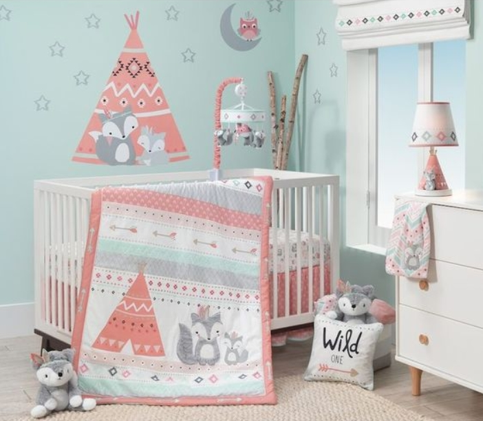 blue baby girl nursery ideas WJFRHZY
