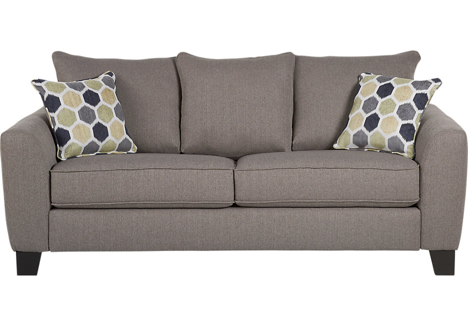 bonita springs gray sleeper sofa - sleeper sofas (gray) POYZVSS