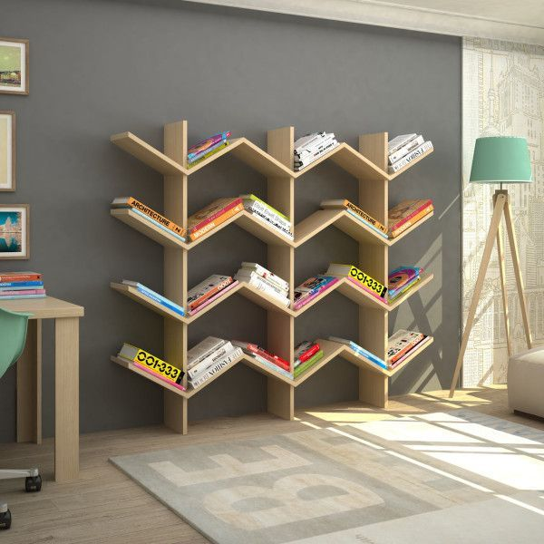 Show case your books collection by having the best bookshelf design