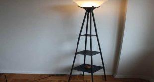 bookshelf floor lamp lovely standing lamp with shelves three shelf floor TTJEWYB