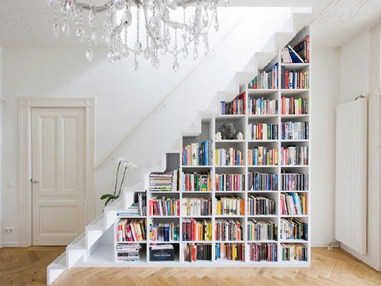 bookshelf12 cool bookshelves: 40 unique bookshelf design ideas XWBJJTP