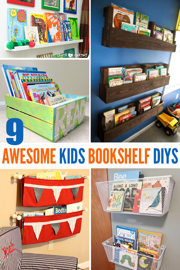 bookshelves for kids 9 awesome diy kids bookshelves MHMDHEL