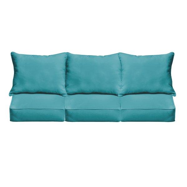brayden studio indoor/outdoor sofa cushions u0026 reviews | wayfair OKWNWYZ
