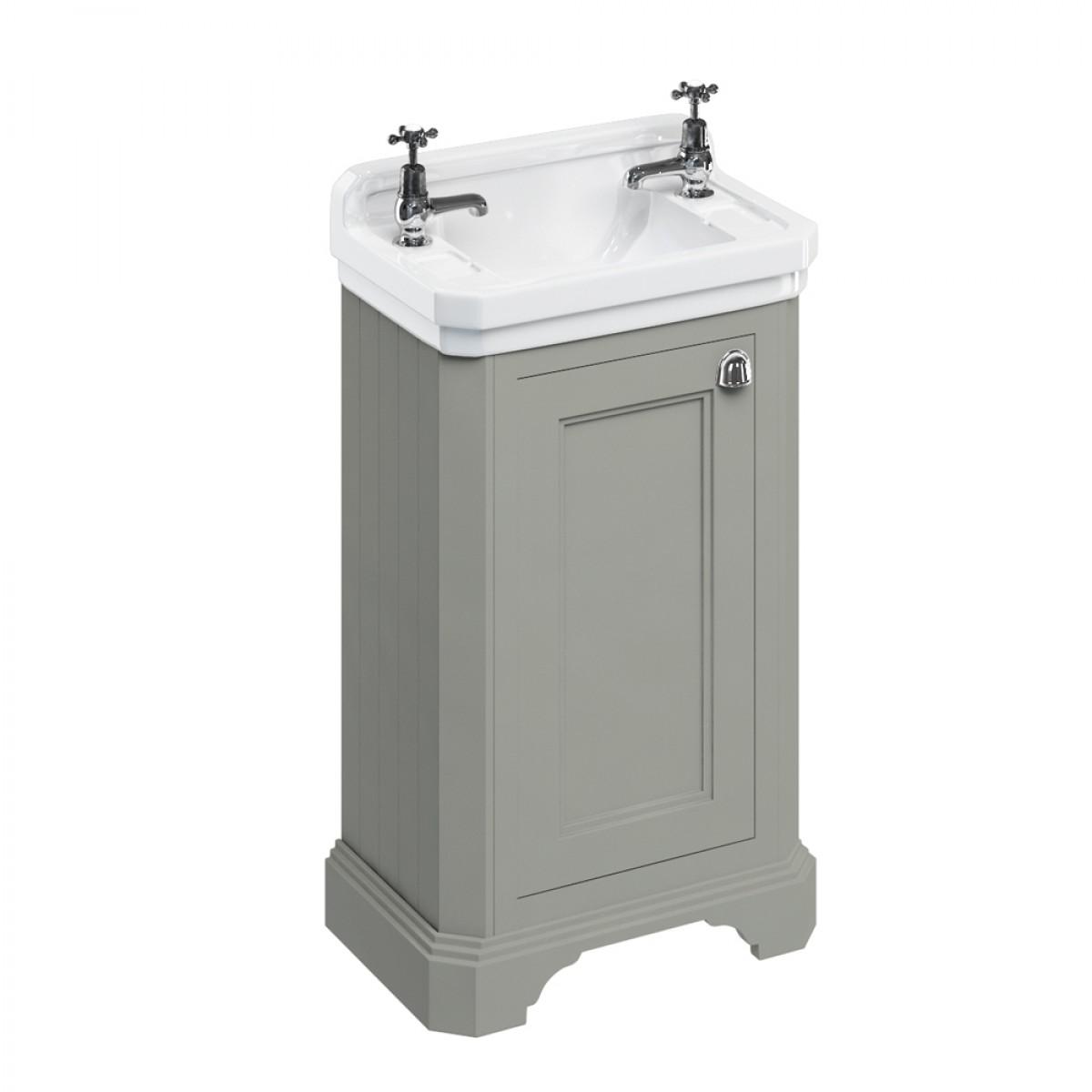 burlington freestanding cloakroom vanity unit with basin RZSFCCV
