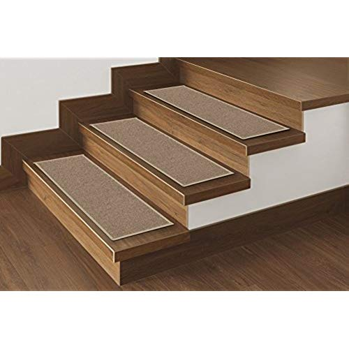 carpet for stairs ottomanson skid-resistant rubber backing non-slip carpet stair  treads-machine washable area SSTVKGL