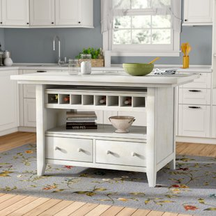 carrolltown wood kitchen island SBNFPNH