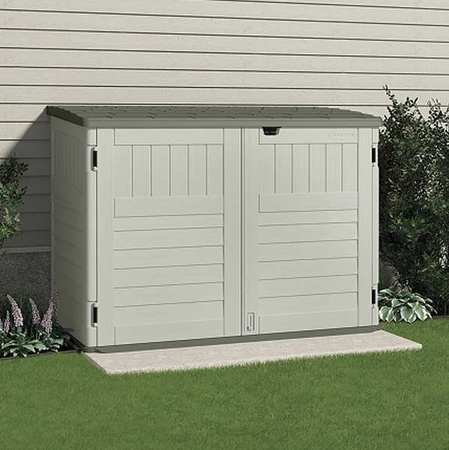 cascade™ outdoor storage shed, 70-1/2inwx44-1/4ind HNDXAAL