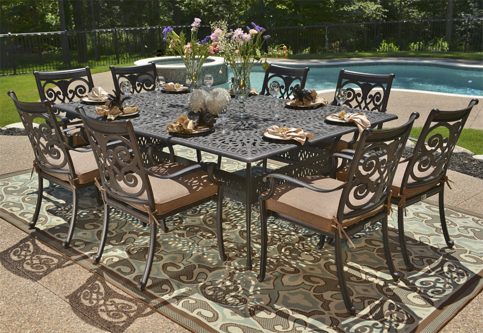 cast aluminium garden furniture - 5 UJARUYX