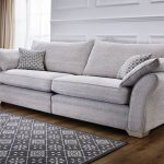 Stylish furniture ideas with fabric sofa