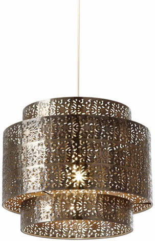 ceiling light shades bramham easy fit filigree bronze ceiling lamp shade HFSAQEM