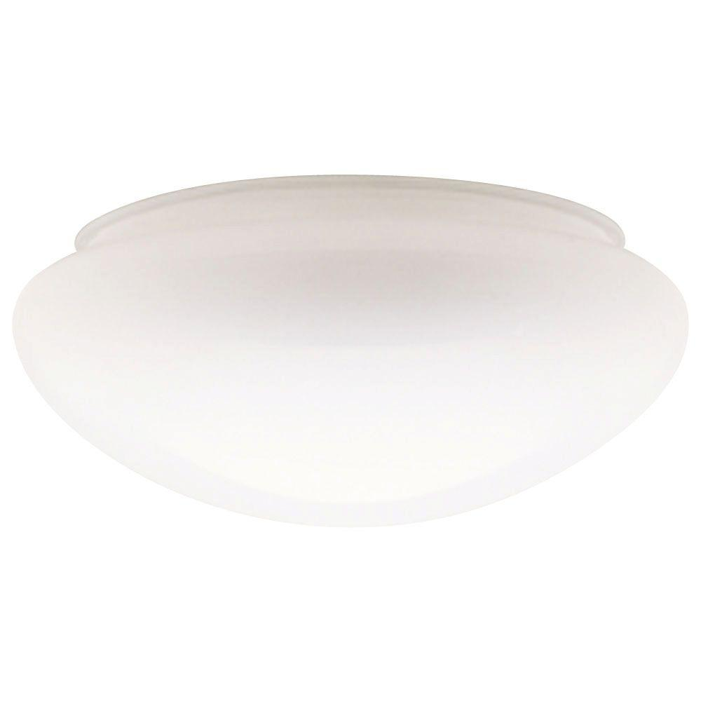 ceiling light shades handblown white mushroom shade with 8 in. fitter and 9- IMBPHQE