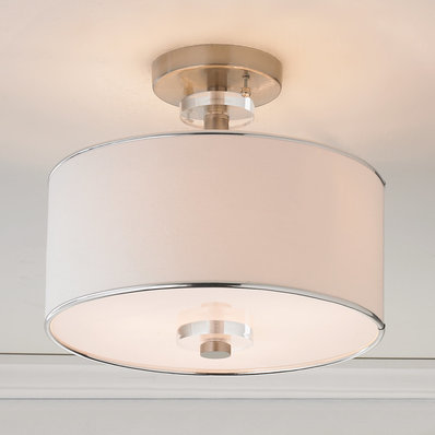 ceiling light shades modern sleek semi-flush ceiling light NMYSPLX