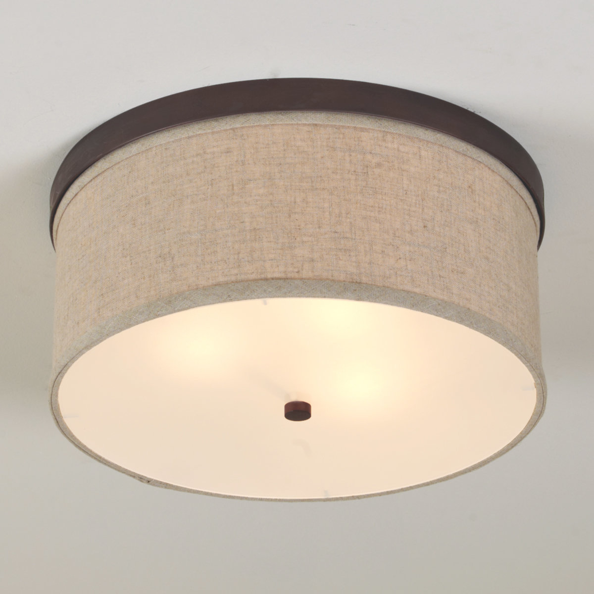 ceiling light shades springfield linen shade ceiling light bronze NTAFBLR