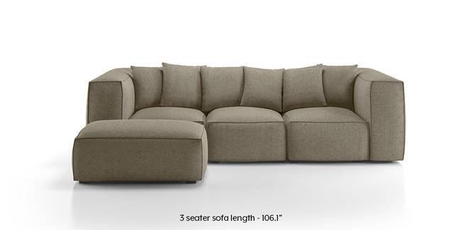 chapman modular sofa (mist brown) (mist, fabric sofa material, regular sofa KNJSJMW