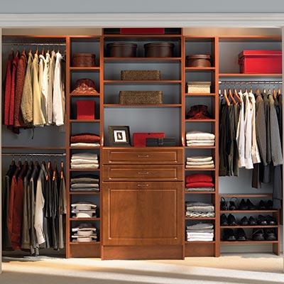 closet storage system wood closet systems JIEEKGG