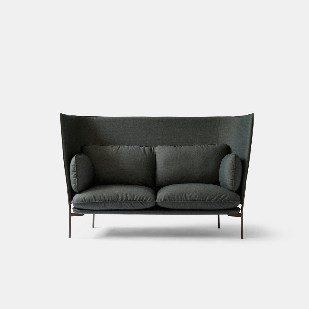 cloud high back sofa - green - monologue london ... UDFNKWH