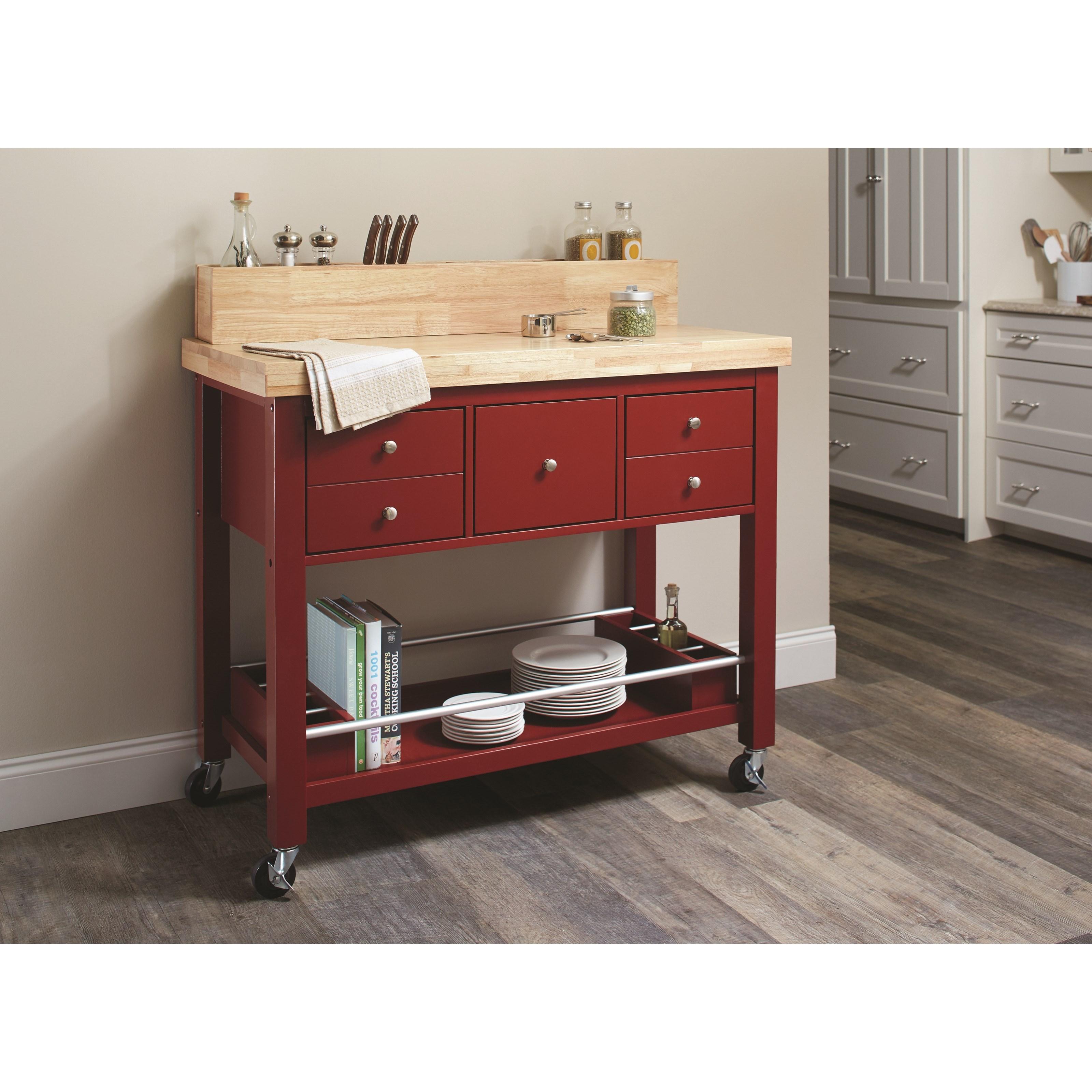 coaster kitchen carts kitchen island - item number: 102667 LZJYFMI