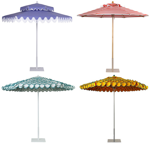 colorful garden umbrellas colorful and frilly outdoor umbrellas JLCUZKL