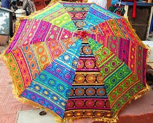 colorful garden umbrellas colorful patios | colorful garden patio umbrella boho bohemian traditional BBDMKXU