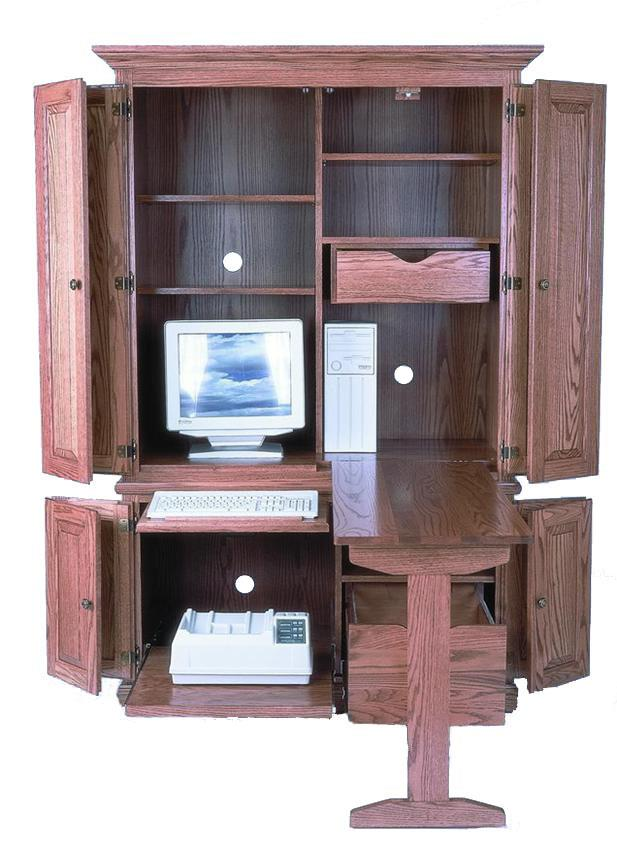 computer armoire amish 51 KEXXWHU
