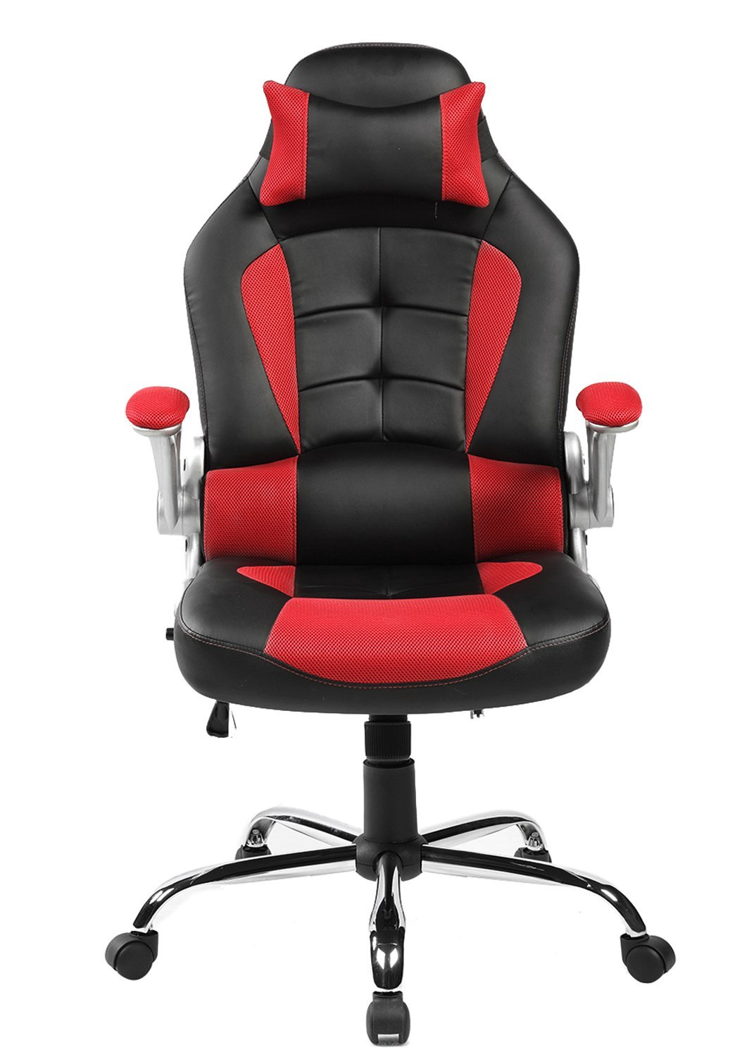 computer chairs amazon.com: merax king series high-back ergonomic pu leather office chair VFUUFXP